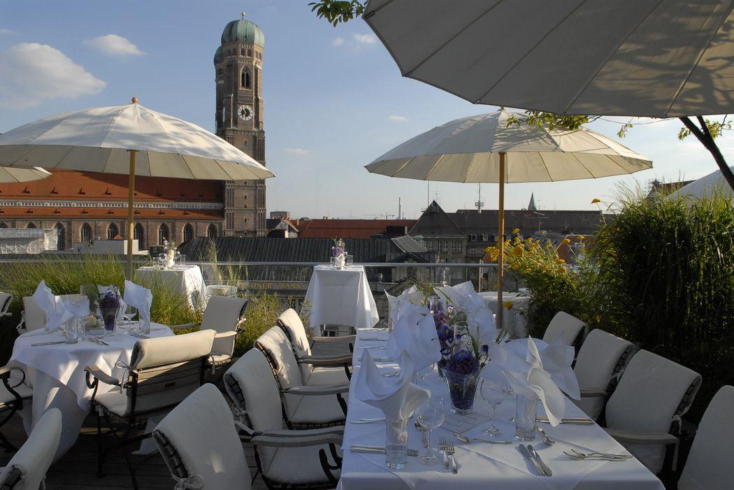 Blue Spa terrace